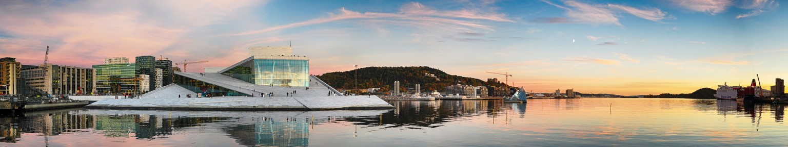 """Oslo Opera House Panorama"" by vilartoni"